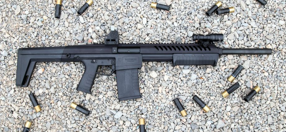 Blackwater Firearms Launches Sentry 12 Pump Action Shotgun