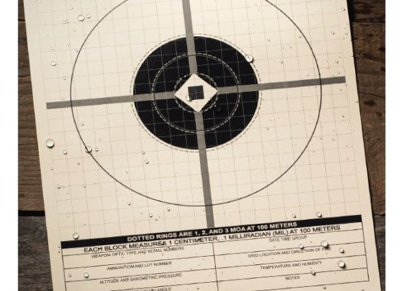 Rite in the Rain introduces their newest target, designed for precision rifle shooting at 100 meters.