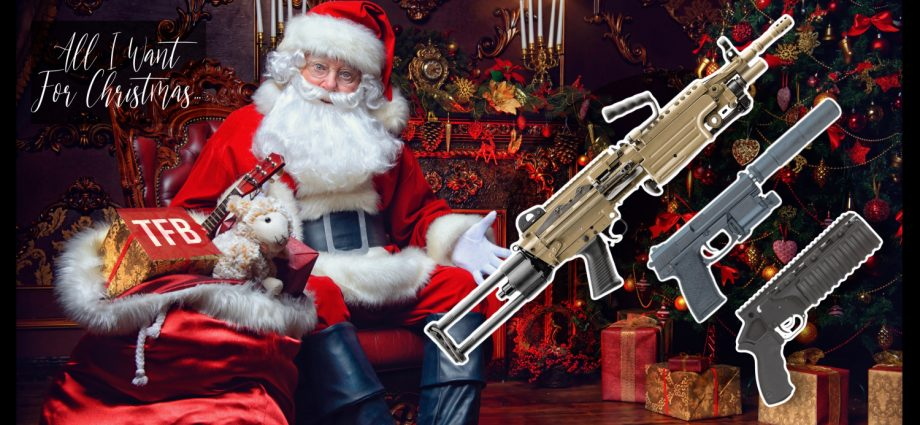 ALL I WANT FOR CHRISTMAS: A Beltfed FN M249S And More