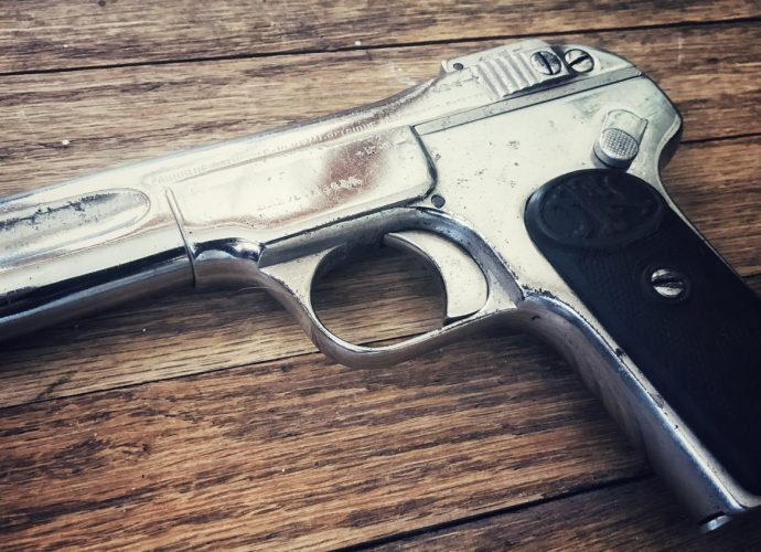 Curious Relics #001: FN 1900 The Great Grandfather to Modern Pistols
