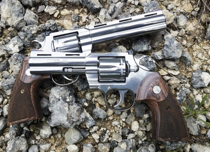 New Colt Python review