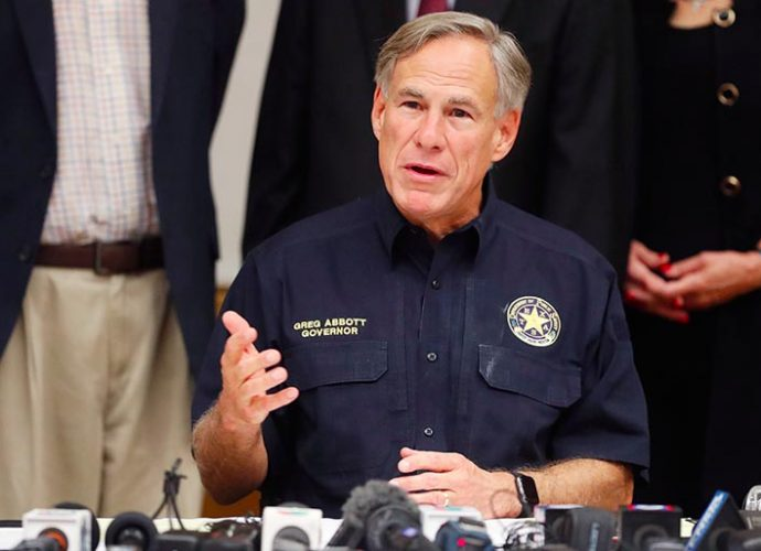 Texas Gov. Greg Abbott mass shooting gun control