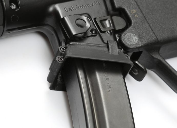 New MP5 Flared Magwell Adapter Coming Soon from Haga Defense