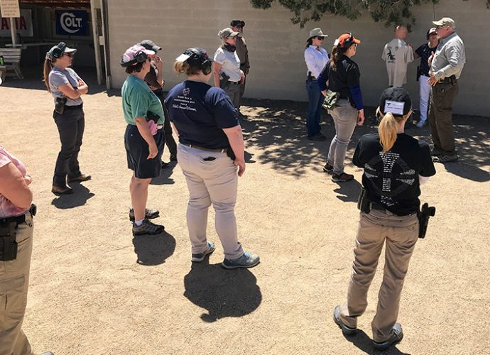 Gunsite Academy Training Class