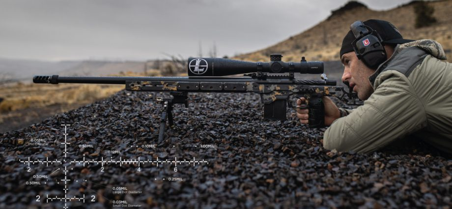 Long-Range Dominance with the new Leupold PR2 Reticle Mark 5HD