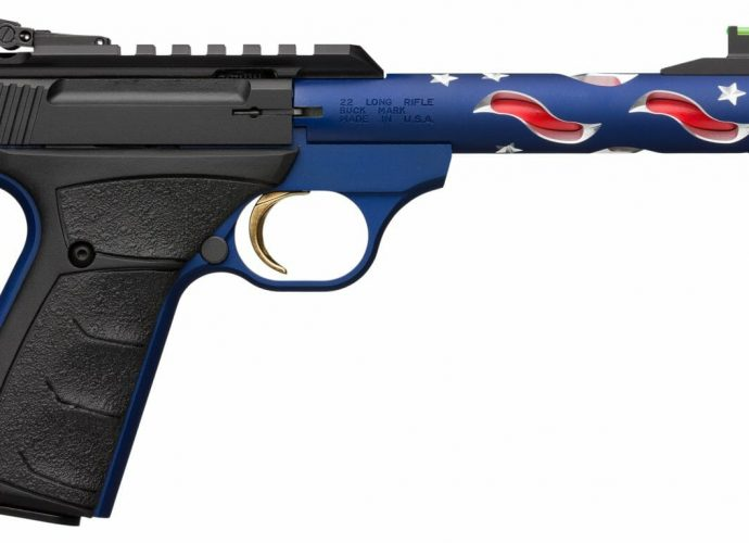 New Limited Production Browning Buck Mark Suppressor-Ready Pistols
