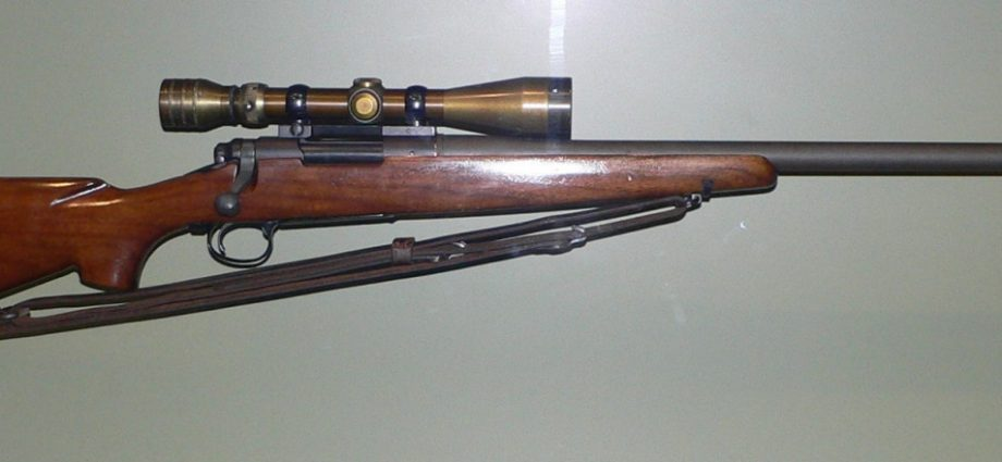 POTD One Shot, One Kill – M40 Sniper Rifle with Redfield 3-9×40 scope