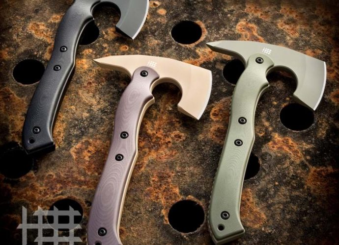 New CRA-02 Compact Rescue Axe from Halfbreed Blades