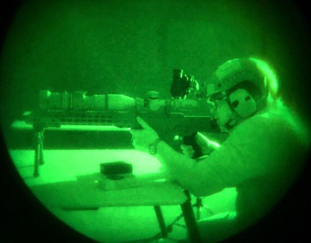 Infrared Wavebands And Rifles Sights