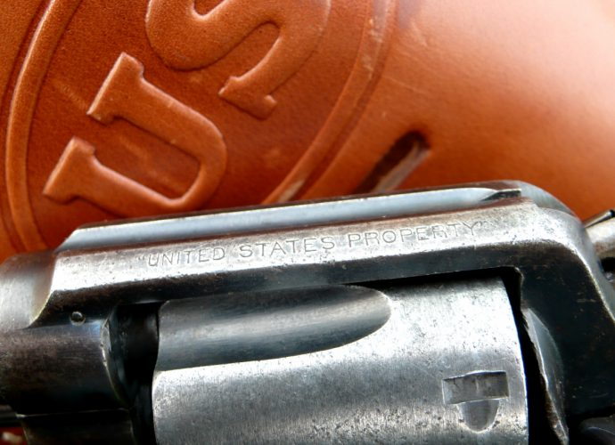 lend-lease S&W Victory revolver
