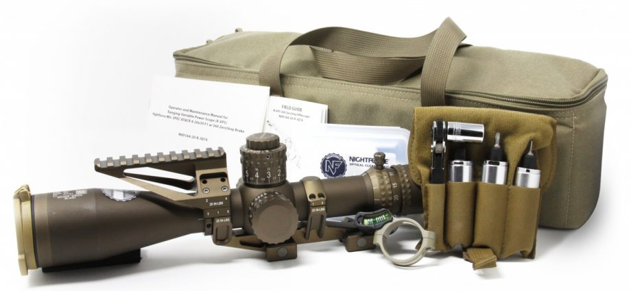 USSOCOM Select Nightforce for Ranging - Variable Power Scope