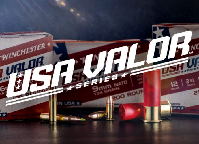 Winchester Ammunition introduces their new USA Valor series ammo, supporting the Folds of Honor organization.