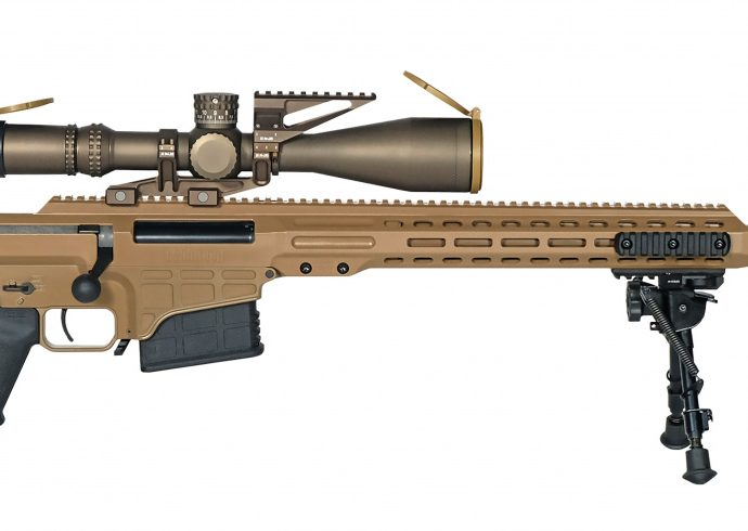 Barrett Ships First MK22 Order for United States Army's Precision Sniper Rifle Contract